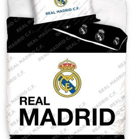 Real Madrid, Zwart/Wit - Dekbedovertrek