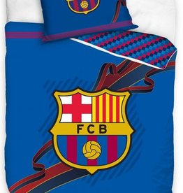 FC Barcelona, Blauw Logo - Dekbedovertrek