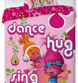 Trolls, Dance - Dekbedovertrek
