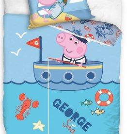 Peppa Pig, George - Ledikant Dekbedovertrek