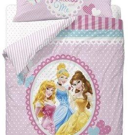 Disney Princess, Hearts - Dekbedovertrek
