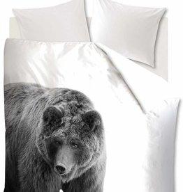 Ambiante Bear, Zwart - Dekbedovertrek