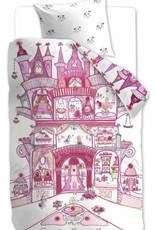 Beddinghouse Fairy Palace, Roze - Dekbedovertrek