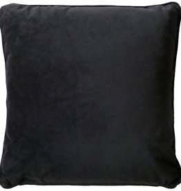Dutch Decor Sierkussen Velvet 45x45, Zwart