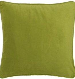 Dutch Decor Kussenhoes Velvet 45x45, Lime