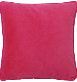 Dutch Decor Sierkussen Velvet 45x45, Fuchsia