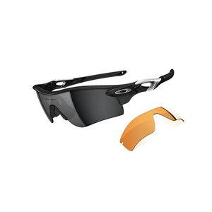 Oakley Radarlock Path Polished Black met Black Iridium Lens