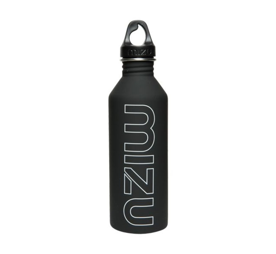 M8 Stainless Water Bottle Black