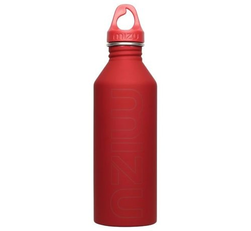 Mizu M8 Stainless Water Bottle Red