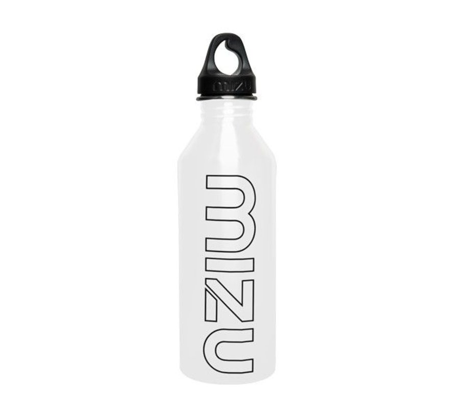 M8 Stainless Water Bottle Glossy White