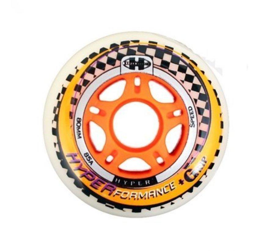 NX 360 Performance 90mm Inline Skate Wheels 4-Pack