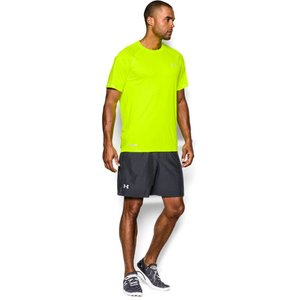 Under Armour Men's HeatGear® Flyweight Run Short Sleeve T-Shirt