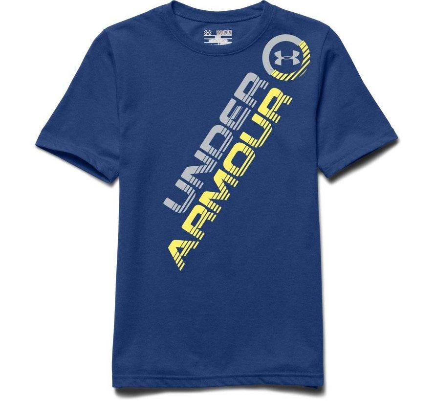 Q2 Circle Script Short Sleeve T-shirt