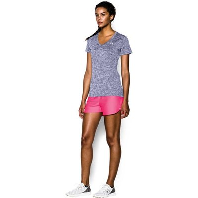 Under Armour Womens Under Armour Twist Tech Tee with V-neck