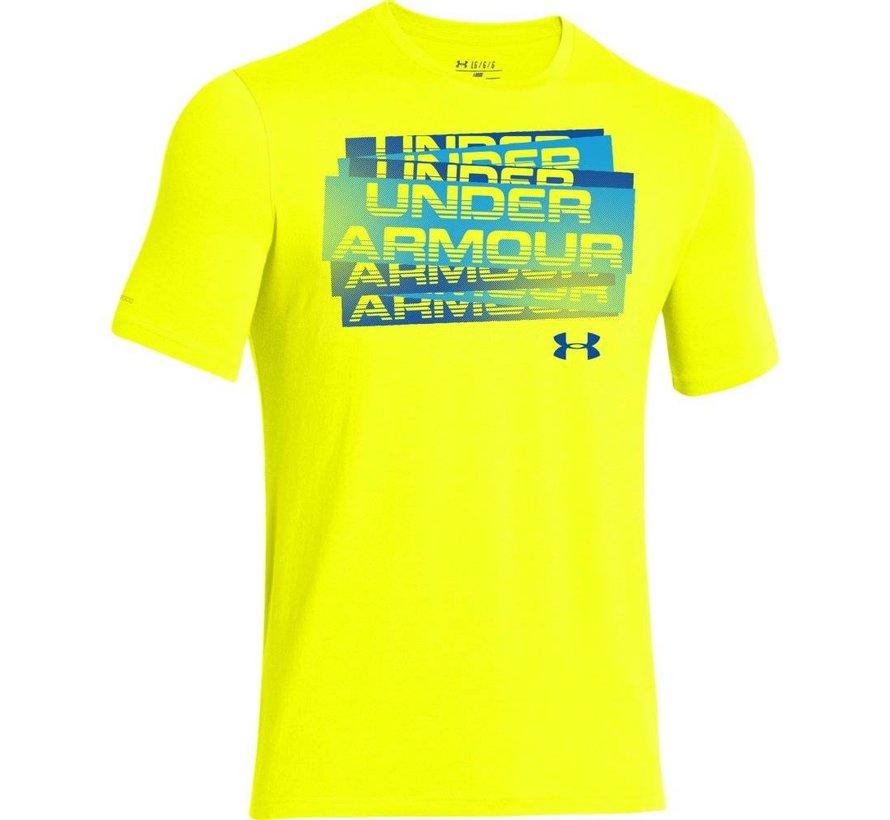 Boys Under Armour Scatter Script T-Shirt