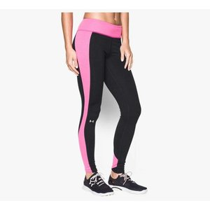 Under Armour Dames legging UA ColdGear® Stripe Inset