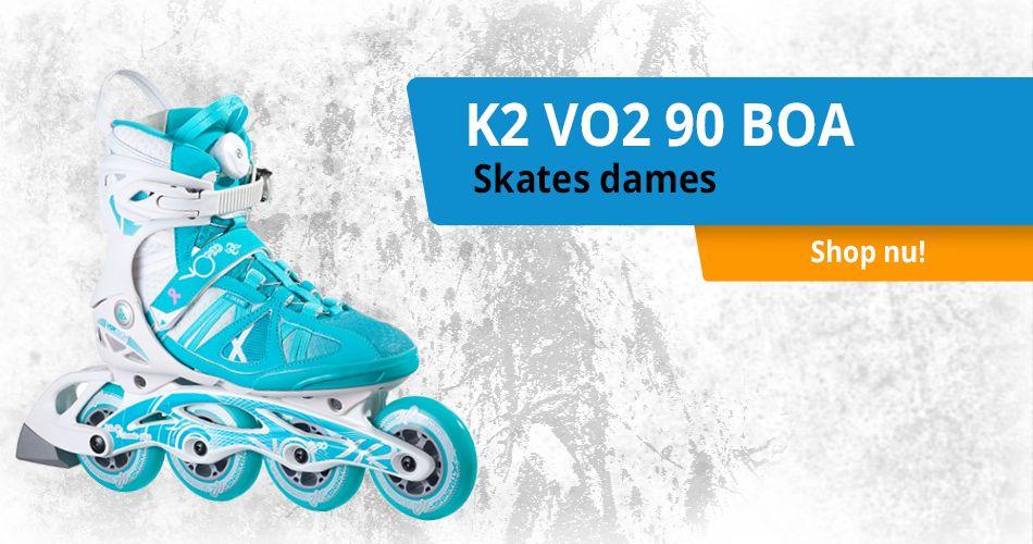 K2 VO2 90 BOA skates