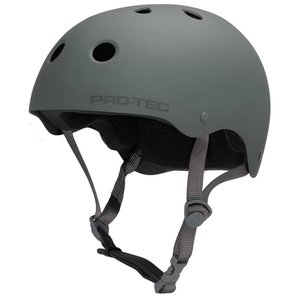 PRO-TEC Skate Helm Classic Rubber Grey