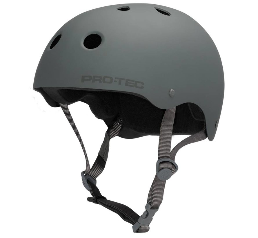 Skate Helmet Classic Rubber Grey