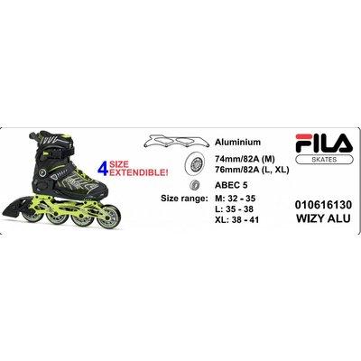 Fila Wizy Alu Adjustable Kids Skates Boys 2017