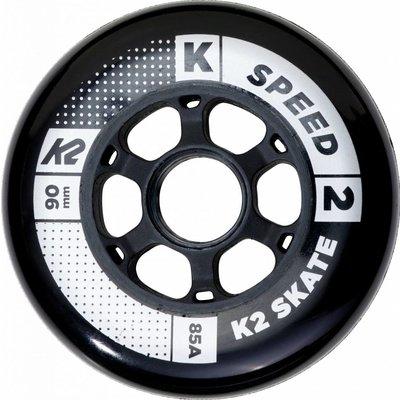 K2 90mm Inline Skate Wheels 8-pack