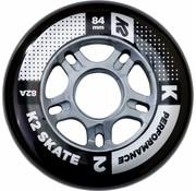 K2 84mm Inline Skate Wheels 8-pack