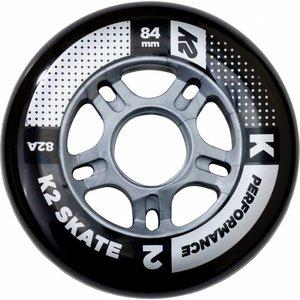 K2 84mm Inline Skate Wielen 8-Pack