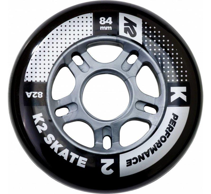 84mm Inline Skate Wheels 8-pack