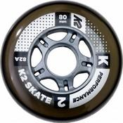 K2 80mm Inline Skate Wheels 8-pack