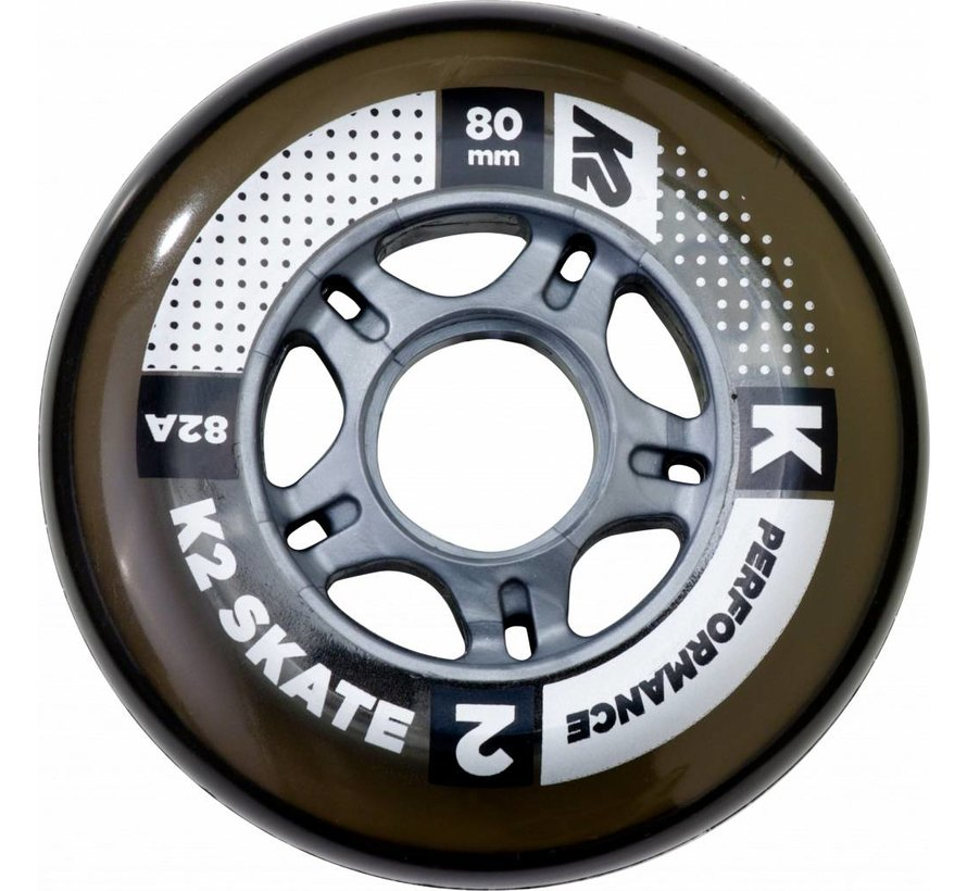 80mm Inline Skate Wheels 8-pack