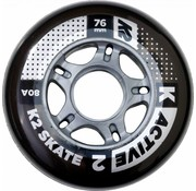 K2 76mm Inline Skate Wheels 8-pack