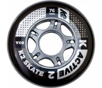 K2 76mm Inline Skate Wheels 8-pack