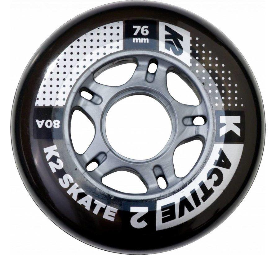 76mm Inline Skate Wheels 8-pack