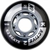 K2 72mm Inline Skate Wheels 8-Pack
