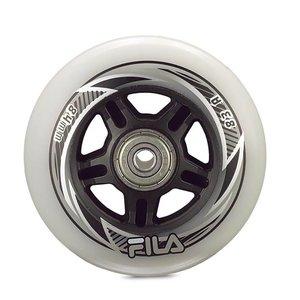 Fila 72mm Inline Skate Wheels 8-pack