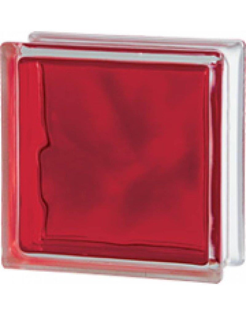 190x190x80 Brilliant Red
