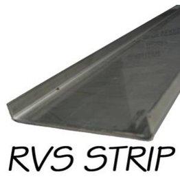 Stainless U-profile 260cm x 8cm