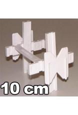 Verlege kreuze 10cm (25stuck)