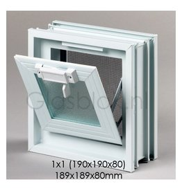Bouwglas Window for 1 pc. glassblock