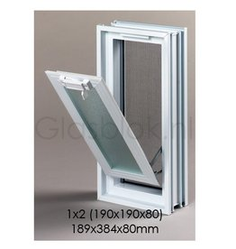 Bouwglas Klapraam 189x384x80mm