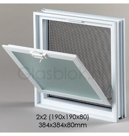 Bouwglas Klapraam 384x384x80mm