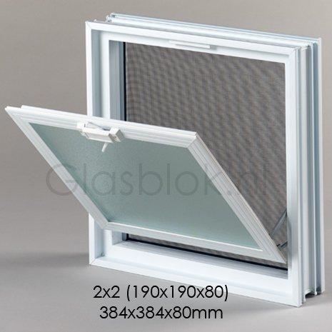 bouwglas window for 2x2 pc glassblock glassblocks