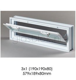 Bouwglas Window for 3x1 pc.