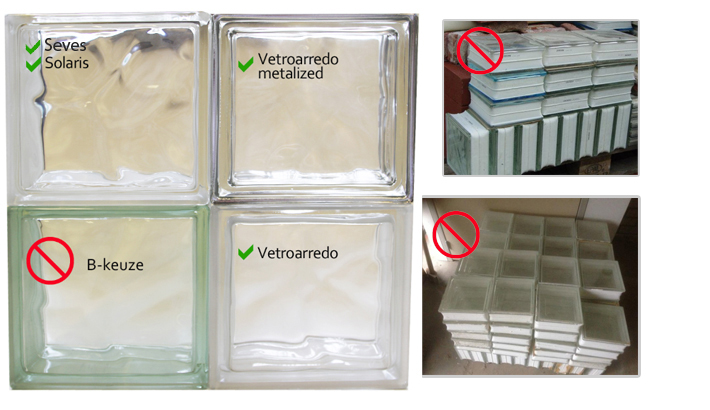 Soorten Glazen Bouwstenen : Kwaliteit & garantie glazen bouwstenen glasblokken glasdallen