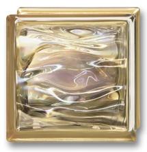 Bouwglas 190x190x80 Agua Perla Oro