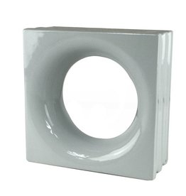 Bouwglas Decoblock round grey 6pc.