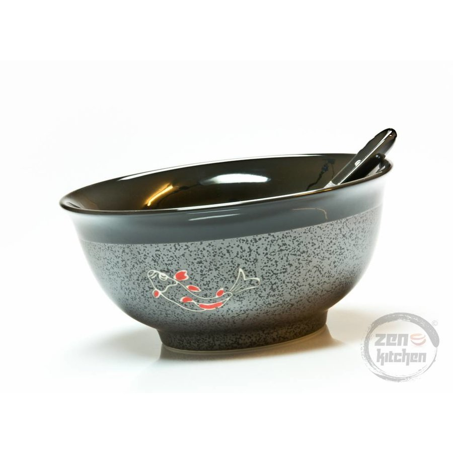 Bowl Koi incl. Spoon-2