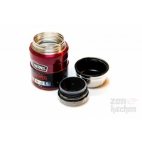 Stainless King™ Food Jar (0.47L - Rood)