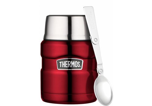Thermos® Stainless King™ Food Jar (0.47L - Rood)