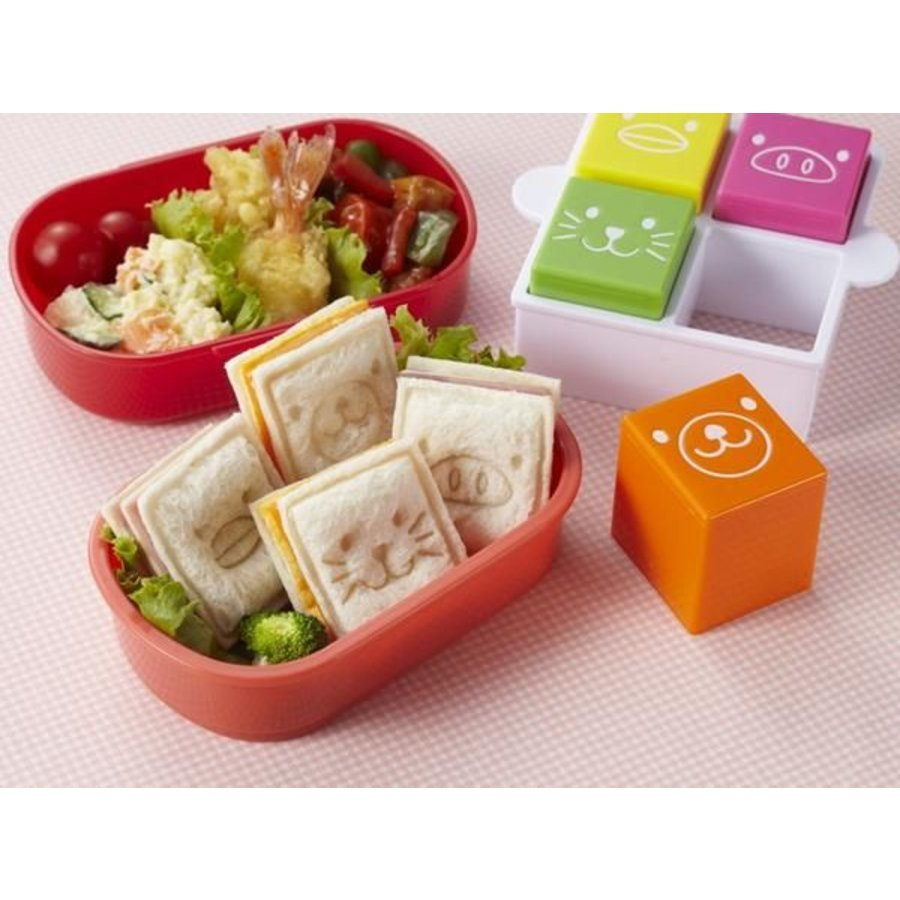Sandwich Sando Animal Cutters & Stamps